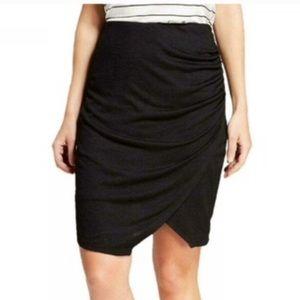 Black wrap skirt size XS